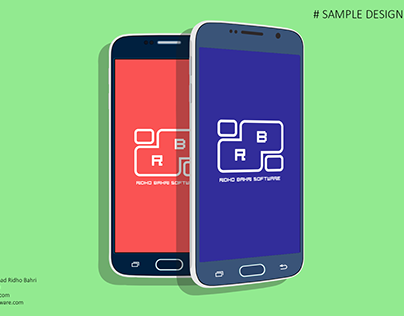 Sample Design Samsung S6 Flat