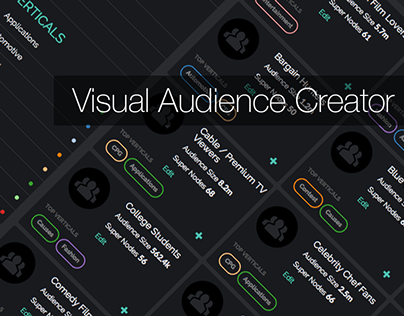 Visual Audience Creator UI/UX