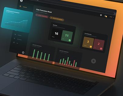 Management Web Responsive Platform - UX & UI