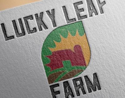 Four Leaf Farms logo design