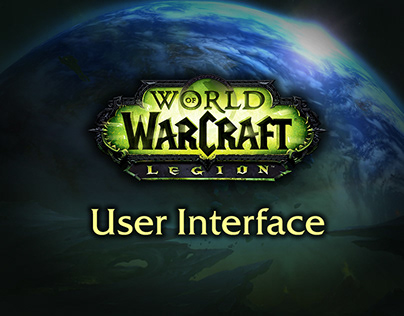 World of Warcraft Legion User Interface