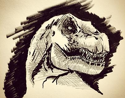 1 sketch per day - 143 days
