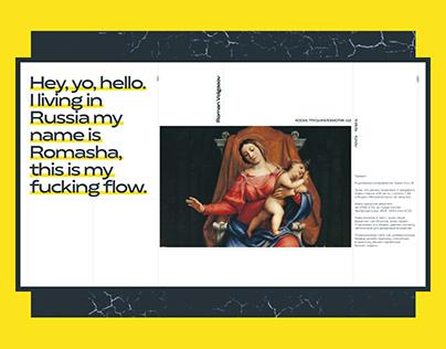 Roman Volgasov — portfloio page