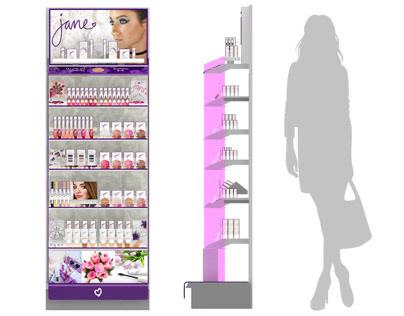 Jane Cosmetics ® 2ft Wall