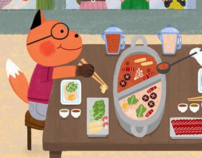Yum-yum in Taiwan