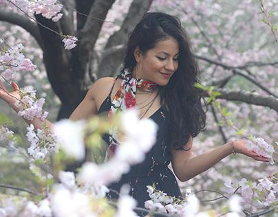 Cherry Blossom Looks