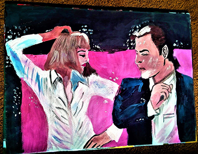 Painting(Pulp Fiction)