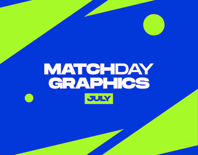 Matchday Graphics | July | 2021/22