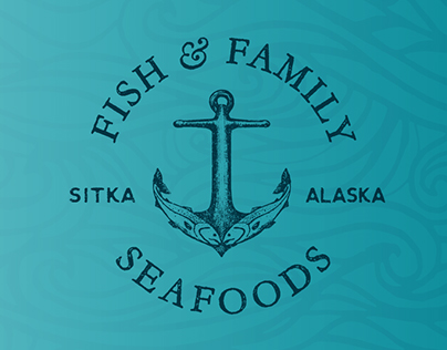 Fish & Family Seafoods Logo