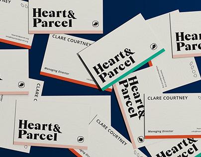 Heart & Parcel - Rebrand