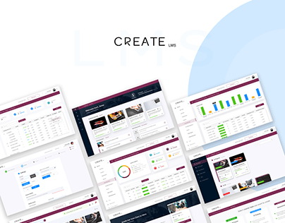 Create LMS E-Learining Platform UI Design