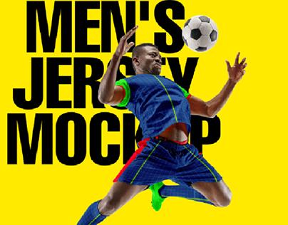Men's Jersey mockup