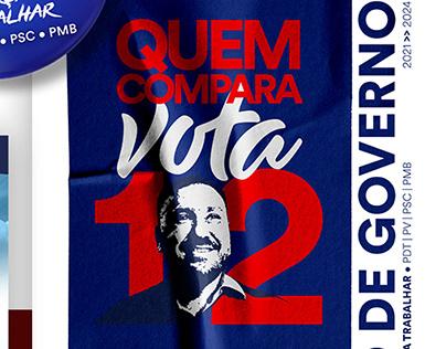 Campanha Política - Diego Hernandez 12
