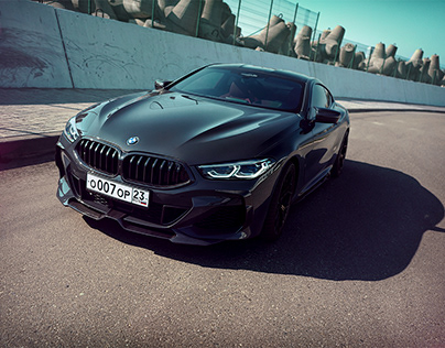 Tenderness. BMW 850i