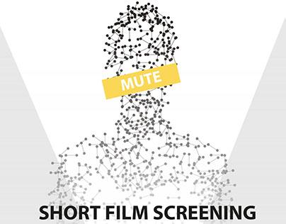 Silent Short Film Screening Poster