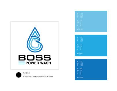 Boss Power Wash Logo