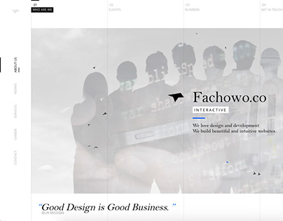 Fachowo.co -  Interactive Agency | Redesign '16