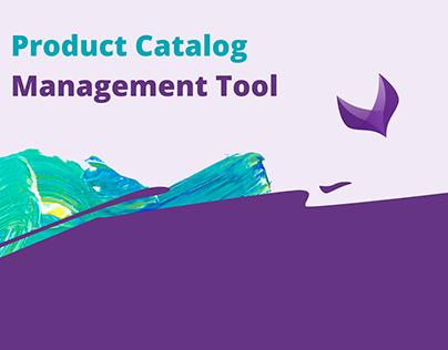 Product Catalog Management Tool