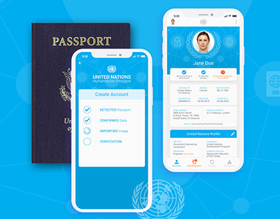UN Humanitarian Passport