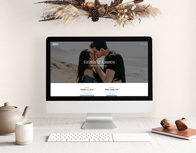 Griffin & Lauren: Wedding Website