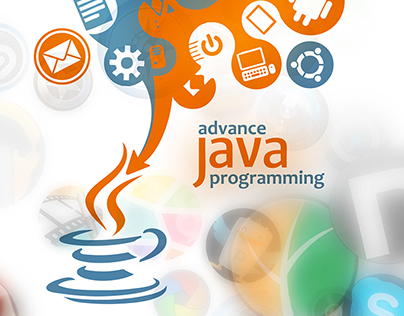 a @java book cover with coffee theme