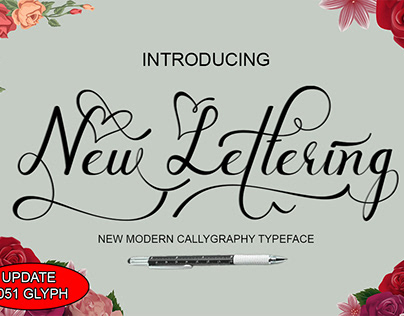 New Lettering Script