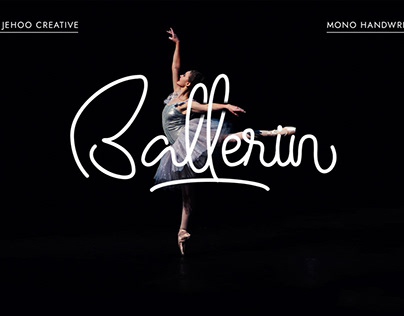Free Ballerin Handwritting Font