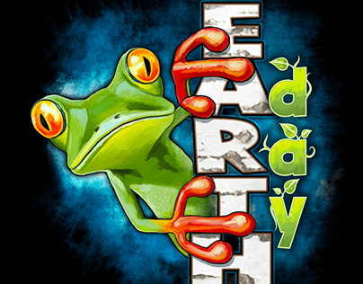 EARTH DAY FROG