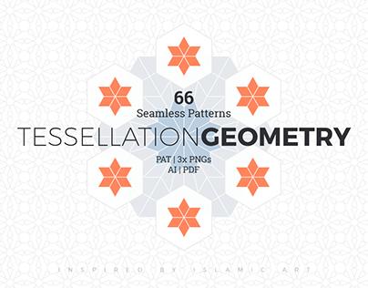 Tessellation Geometry Patterns + Freebies
