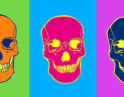 Skullartwork - Ilustração Vetorial de Caveiras