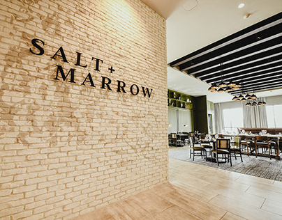 Salt + Marrow - Hotel F&B/Restaurant Branding