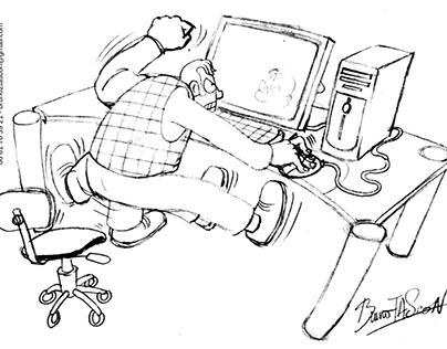 Bruno Tascon dessinateur humoristique DESSINS VANNES