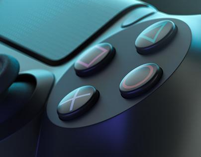 Playstation Dualshock 4 - CGI