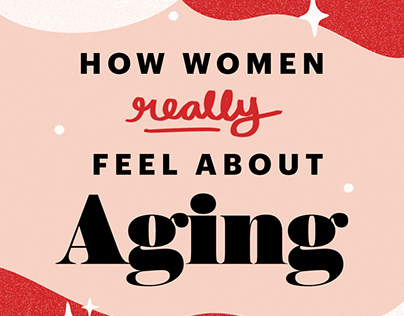 Allure Anti-Anti Aging Campaign