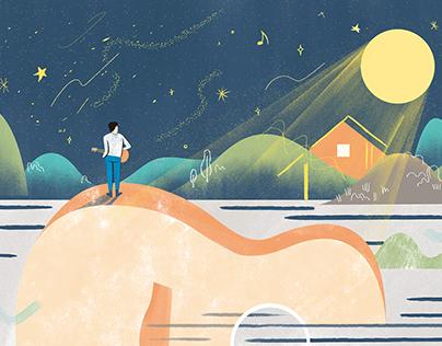 Illustration for StreetVoice