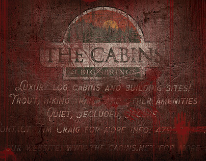 The Cabins Gag Art