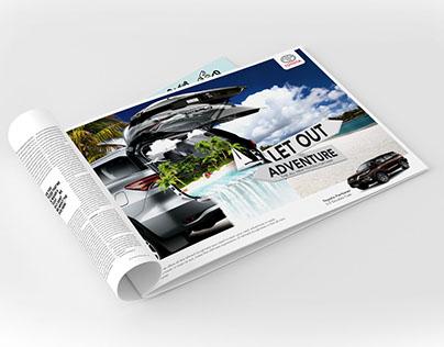 Toyota Fortuner Print Ads