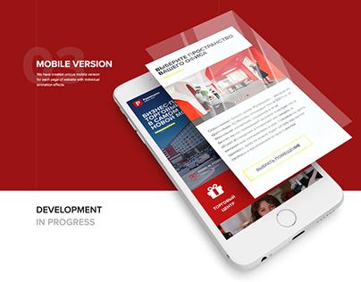 Buisness Park website design
