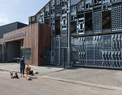 Afvalbrengstation by Wessel van Geffen Architects