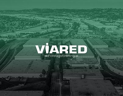 VIARED FÖRETAGSFÖRENING New website design UI/UX