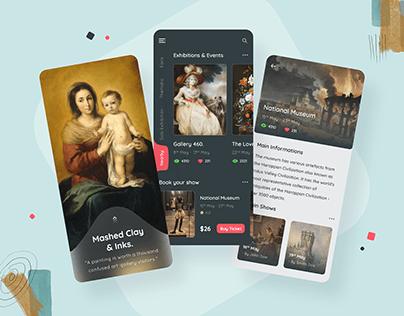 Virtual Exhibition App Design
