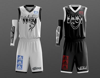 adidas East Vs. West Celebrity Game Jersey