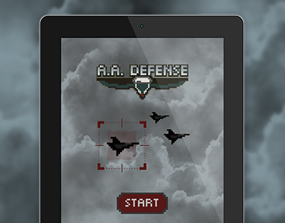 A.A.Defence | Pixel Game for iOS & Android