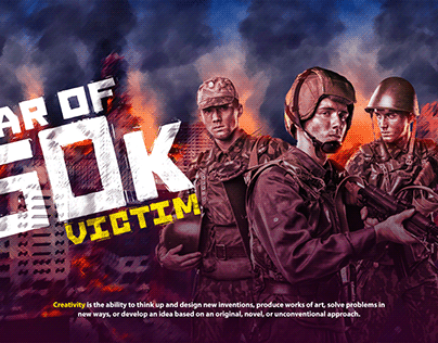 war of 60 k victim