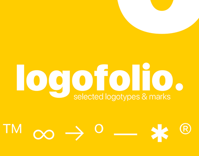 Logofolio — selected logotypes and marks