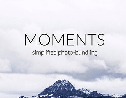 Photography App Design Concept