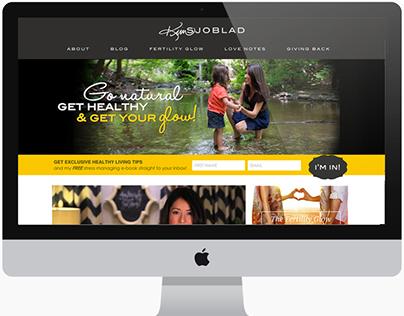 Kim Sjobald  Branding and Web Design