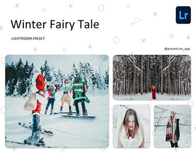 Winter Fairy Tale - - Free Lightroom Presets Everyday