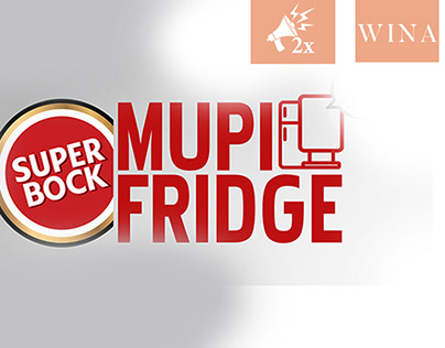 Super Bock Mupi Fridge