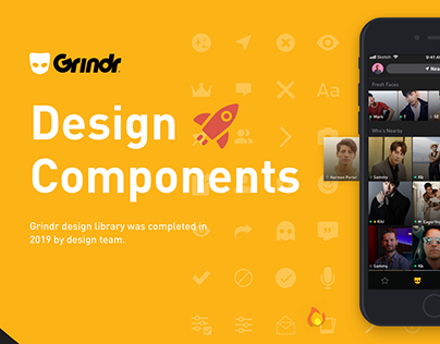 Grindr Components Library